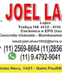 Joel Lajes na  Zona Leste