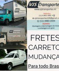 VJS Transportes em Santana de Parnaiba