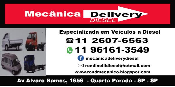 Mecânica Delivery Diesel na Zona Leste
