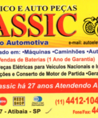 Auto Elétrico e Auto Peças Classic – Auto Elétrico em Atibaia