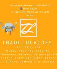 Thaiô Locações – Locação De Mesas E Cadeiras – Em São Paulo