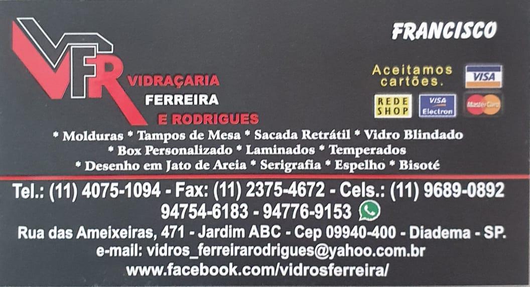 VFR Vidraçaria em Diadema